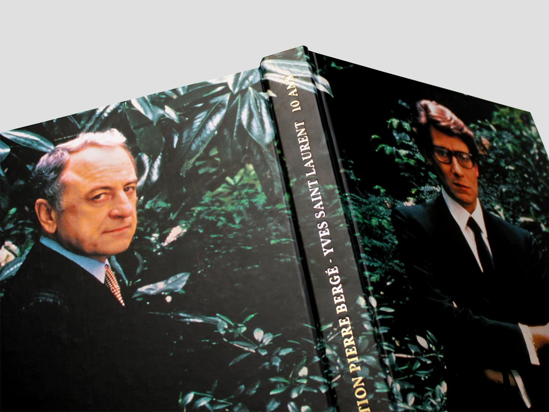 Livre 10 ans Fondation Pierre Bergé - Yves Saint Laurent