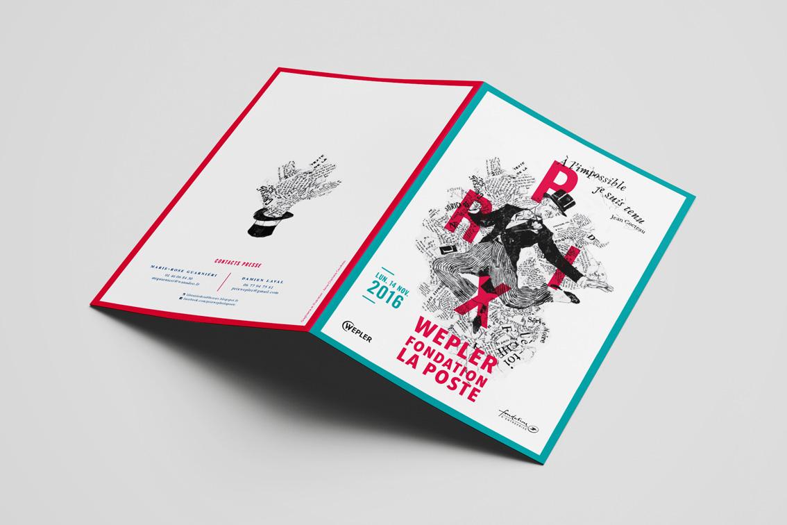 Invitation Prix Wepler-Fondation La Poste